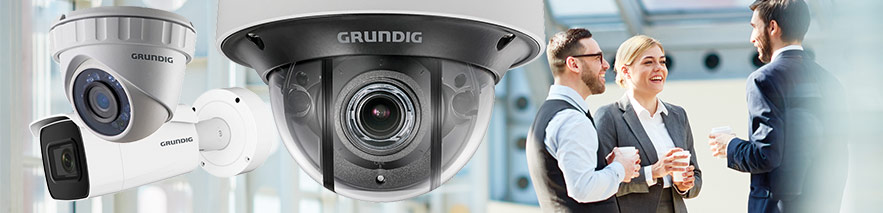 scopri la gamma Grundig security
